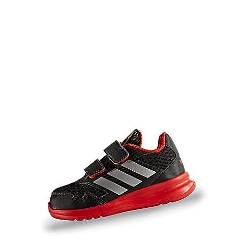 adidas Lauflernschuh, Groesse 20, schwarz/rot