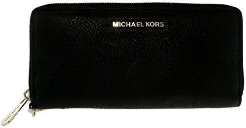 Michael Kors Women's Leather Wallet - Black