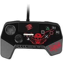 Mad Catz Street Fighter V FightPad Pro. Mando para videoconsola PlayStation 4 y PlayStation 3 - Negro - Actualizado con las últimas innovaciones para juegos de lucha