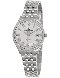 Yonger & Bresson DMC 1690/02 - Reloj de pulsera mujer, acero inoxidable, color plateado