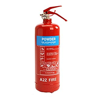 Powder Fire Extinguisher - 2kg ABC Powder Extinguisher A2Z Fire