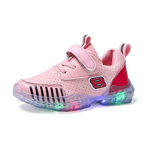 Junge Kostüm Basketball Spieler - Kinder LED Schuhe Mädchen Jungen Leuchten Sportschuhe Unisex Kinder Turnschuhe Licht LED Sneaker Heligen Blinkt Leuchtschuhe Blinkende Kinderschuhe für Mädchen Jungen