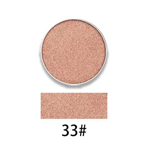 Gaddrt MY NAME IS RACHEEL Perle Langlebige Bunte Lidschatten Lidschatten Presse Pulver Kosmetik Make-Up (G)