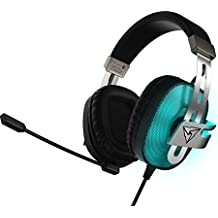 ThunderX3 TH40- Cascos Gaming Profesional- (Iluminación LED, 7 Colores, Driver 53