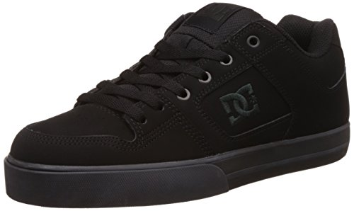 DC Shoes Herren Pure - Shoes for Men Skateboardschuhe, Pirate Black, 50 EU -