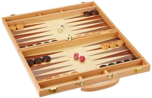 Preisvergleich Produktbild Philos 1110 - Backgammon Kreta, medium, Koffer