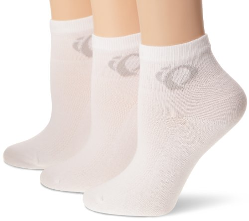 Pearl Izumi Attack Low 3er Pack Damen Fahrrad Funktions Socken weiß 2015: Größe: M (38.5-41) (Weiße Izumi Socken Pearl)