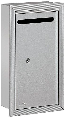Salsbury Industries Slim - Buzón empotrable con cerradura comercial, 2265AP