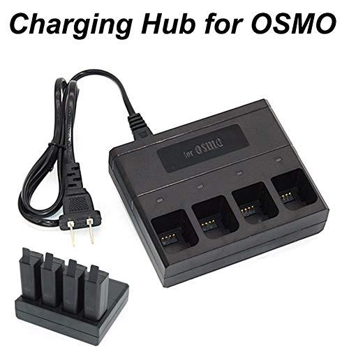 4-in-1-Hub für tragbare Wechselstrom-Ladegeräte für DJI OSMO X3 Mobile Gimbal Camera - * AU-Stecker