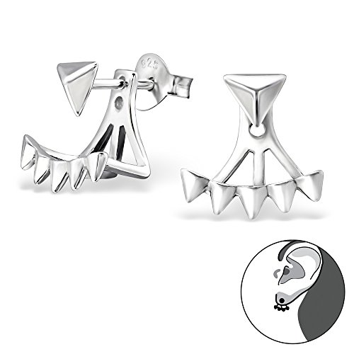si-si-select-quality-925-sterling-silver-earrings-triangle-pyramid-ear-jacket-ear-hugger-19-x-13-mm-