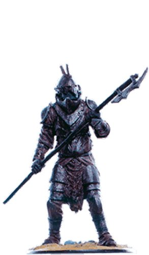 Lord of the Rings Señor de los Anillos Figurine Collection Nº 89 Beak-Helm Orc 1