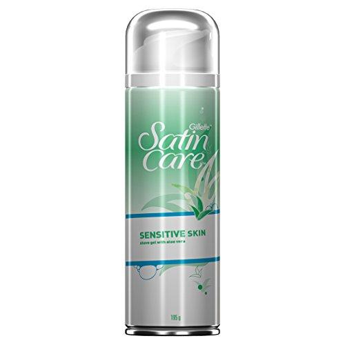 Gillette Venus Satin Care Rasiergel Empfindliche Haut, 200 ml