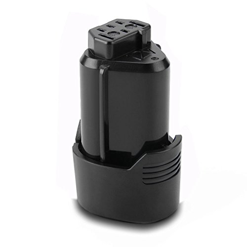 Exmate 12V 2,5Ah batteria di ricambio agli ioni di litio per AEG L1215 L1215P L1215R R86048 BLL12C BS12C BS12C2 BSS12C BWS12 BWS12CBWS