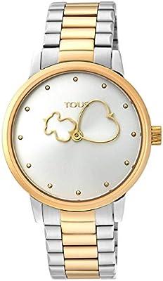 Reloj Tous acero bicolor rosa 900350315