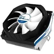 Arctic Alpine 64 Plus - Ventilador para refrigeración de unidad central de proceso, color negro