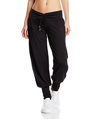 Venice Beach Damen Jogginghose Uma Pants Sporthose, Black, L