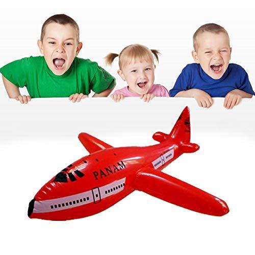 Tammy Yerkes 3 STÜCKE Aufblasbare Kinder Blow Up Spielzeug Flugzeug Party Kostüm Pool Strand Spielzeug Party Decor Geschenk