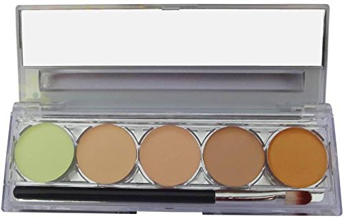 Kiss Beauty 5 Color Contour Palette 9547