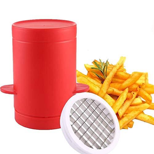Macchina per patate fritte, piixy affetta verdure patate fritte maker cutter machine & microonde contenitore 2-in-1, no deep-fry to make healthy fries