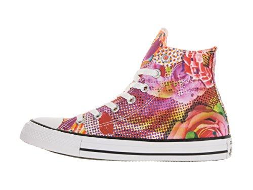 Converse Womens Chuck Taylor Digital Floral Print Hi Textile Trainers Floral