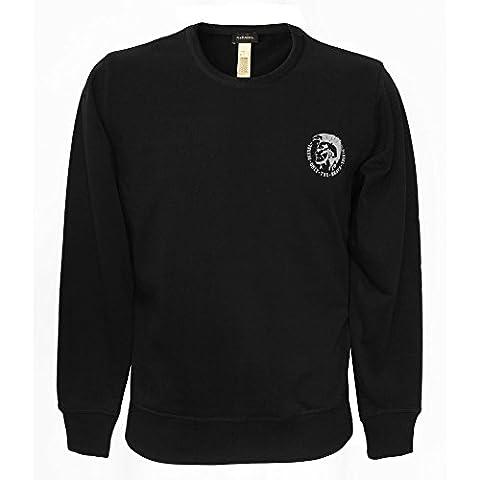 Diesel Sw/shirts (h Diesel Dies.willy 900 Swt, Black, XX-Large