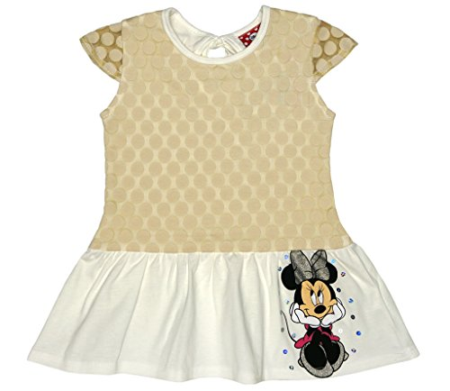 Baby Kostüm Bug - Disney Baby Mädchen Minnie Mouse FEST-Freizeit-Kleid Sommerkleid in Gr 80 86 92 98 104 110 116 122, Baumwolle Bluemnmädchen Outfit Strand-Kleid Farbe Modell 5, Größe 98