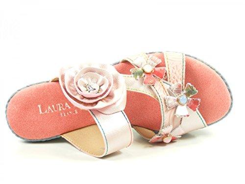 Laura Vita SL3036-5A Beaute 05 Mules mode femme Rose