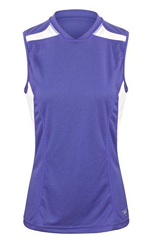Velocity Jogging Weste Oberteil für Damen 42 Korsische Blau