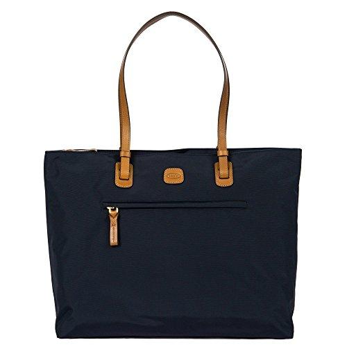 Brics X-Travel Shopping Ladie`s Commuter Tote Schultertasche 39 cm Blau (Ocean Blue)