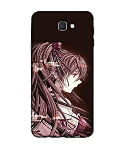PrintVisa Designer Back Case Cover for Samsung On5 (2016) New Edition For 2017 :: Samsung Galaxy On 5 (2017) (Beauty Caucasian Character Fog Close Confident Beautiful Dark)