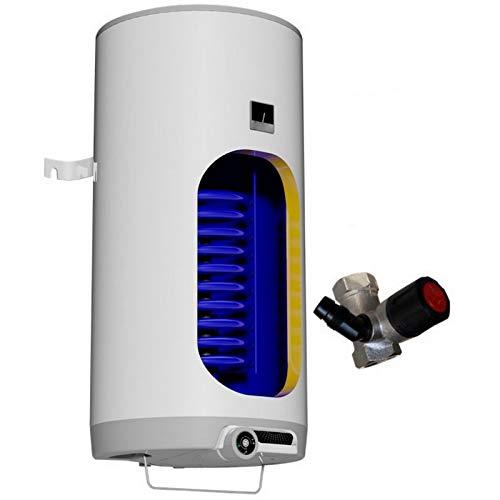 80 100 125 160 180 200 L Liter wandhängender kombinierter Warmwasserspeicher mit 1 Wärmetauscher und Heizleistung 2,2 kW verschleißfreier Keramikheizstab, Elektro Boiler