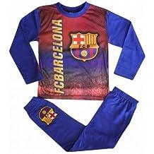 FCB Niños FC Barcelona Escudo (la Liga) Pijama con a Todo Color Impresión,
