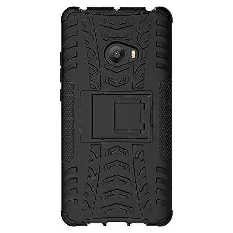 Étui XiaoMi Mi Note 2, 2en1 Armure Combinaison Antichoc Heavy Duty Bouclier Shield Coque Rigide Housse pour XiaoMi Mi Note 2 (Noir)
