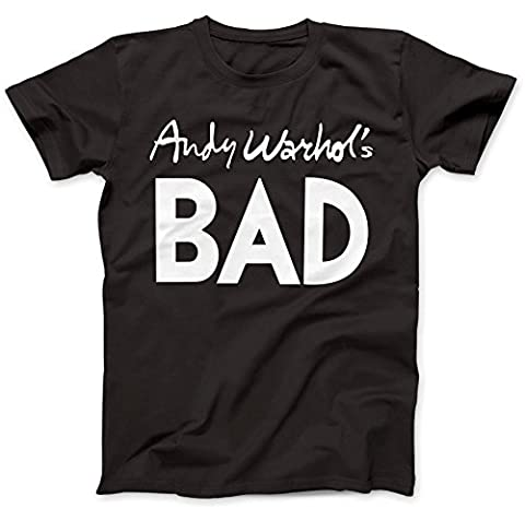 Andy Warhol's Bad As Worn By T-Shirt 100% Premium Cotton