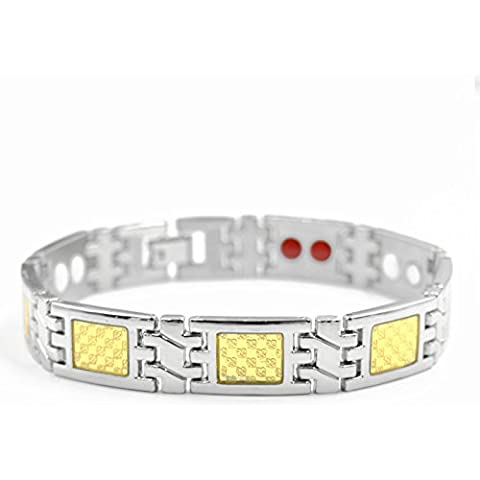 Enlaces de moda simple alto grado titanio reloj banda