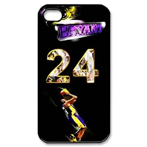 DIY case 1 NBA Team Los Angeles Lakers Kobe Bryant Print Black Case With Hard Shell Cover for Apple iphone 6 by supermalls
