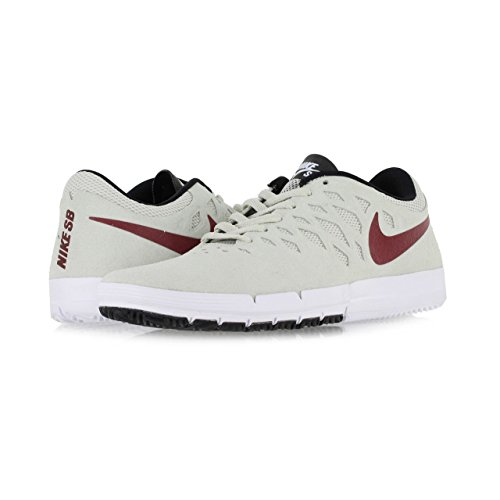Nike Herren Free SB Turnschuhe Blanco (Blanco (Light Bone/Team Red-Black))