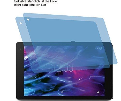 4ProTec 2X ANTIREFLEX matt Schutzfolie für Medion Lifetab P10606 Displayschutzfolie Bildschirmschutzfolie Schutzhülle Displayschutz Displayfolie Folie