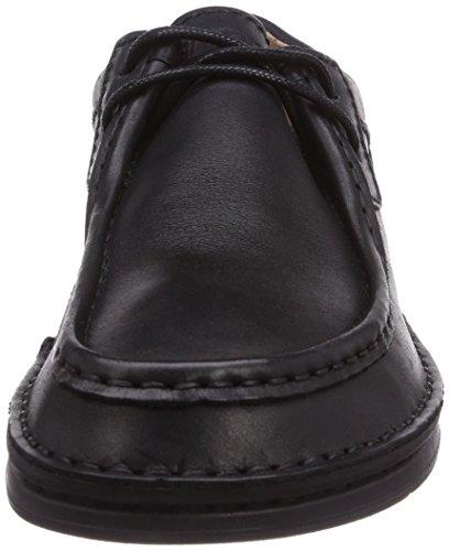 Birkenstock Pasadena, Chaussures de ville à lacets femme Noir (Black)