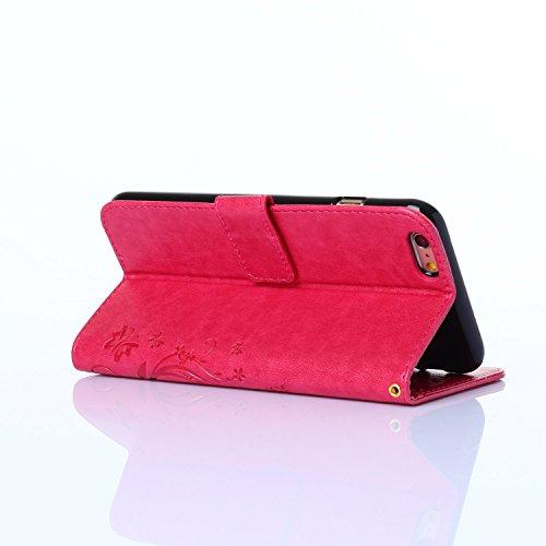 iPhone SE Hülle Leder,iPhone 5S Hülle Glitzer,iPhone 5 Hülle Schwarz,iPhone SE Leder Handy Tasche Wallet Case Flip Cover Etui für iPhone 5S,EMAXELERS Ledertasche im Brieftasche für iPhone SE 5 5S Tasc E Pure 1