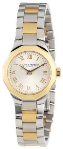 Baume & Mercier Damen 8762 Riviera XS Two-Tone Gold Zifferblatt