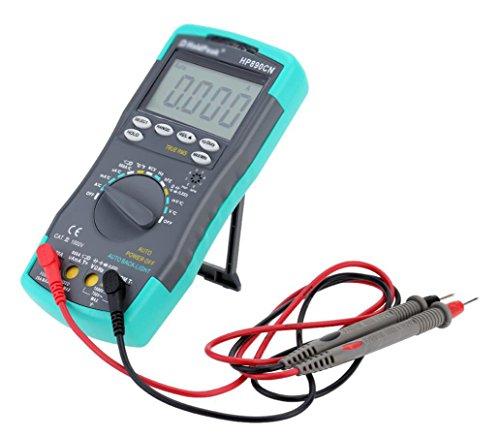 Digital Multimeter Hintergrundbeleuchtung AC/DC Amperemeter Voltmeter Ohm Portable Meter Widerstand Frequenz Duty Cycle Test