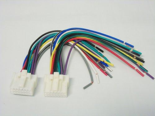 Stereo Radio Installer 2 Pack Panasonic 16 Pin Wiring