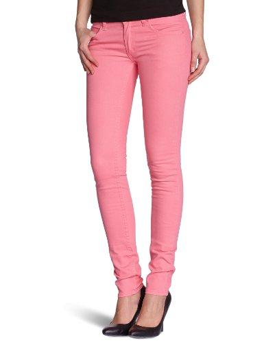 Cheap Monday Damen Jeans  Slim Skinny Pink (Strawberry Pink)