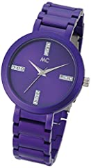 Idea Regalo - MC time Trend orologio da polso da donna al quarzo in alluminio 51678
