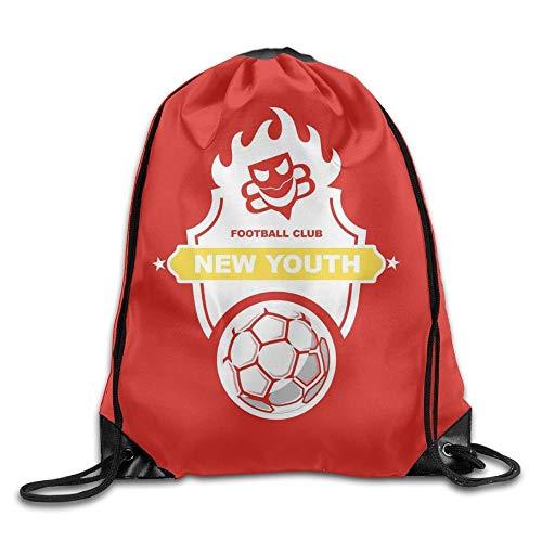HLKPE Deut Cher Fussball-Bund Large Drawstring Sport Backpack Sack Bag Sackpack (Fußball-sox)