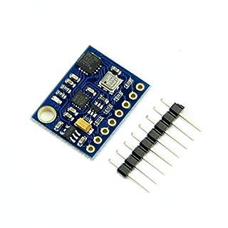 UIOTEC New 10DOF L3GD20 LSM303D BMP180 Gyro Accelerometer Compass Altimeter For Arduino