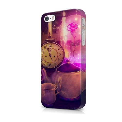 iPhone 5/5S/SE coque, Bretfly Nelson® BEYONCE - CONSTITUTION Série Plastique Snap-On coque Peau Cover pour iPhone 5/5S/SE KOOHOFD919189 BEAUTY AND THE BEAST - 030