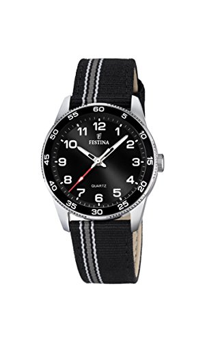 Festina Unisex Analogue Classic Quartz Watch with Textile Strap F16906/4