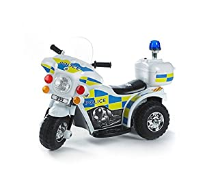 Ride-on Electric Police Bike
